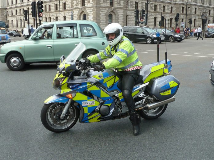 South London Police Bike