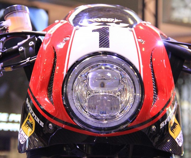 CCM Spitfire Foggy Edition Headlights