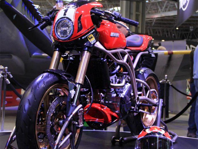 CCM Spitefire Motocycle Foggy Edition