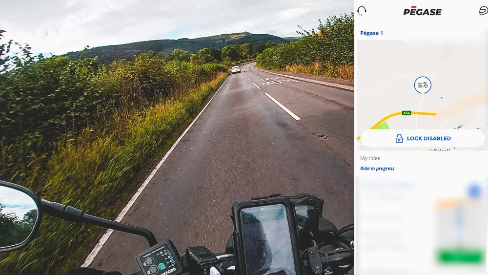 Track your motorcycle trips