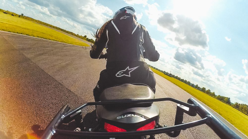 Using a GPS Tracker on a Track Day